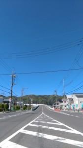 1492925682662 山と役場への道 島本町